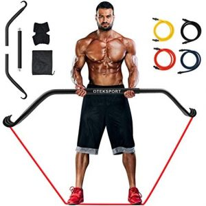 Bow Home Gym Portable Resistance Bands Set,The Maximum Load Capacity can Reach 500 Pounds,Fitness Equipment System with Full Body Workout, Weightlifting Training Kit for Exercise
